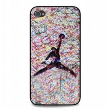 air jordan paint for iphone 4 and 4s case