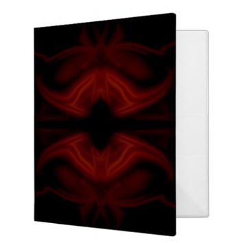 Scarlet Bat 3 Ring Binder