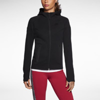 Nike Tech Windrunner Women's Hoodie Size Medium (Black)