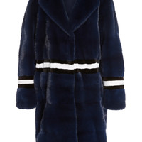 Gwen Striped Coat | Moda Operandi