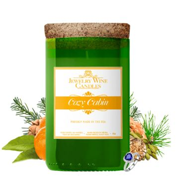 Cozy Cabin | Jewelry Wine Candle®