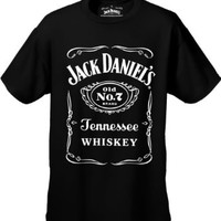 "Jack Daniel's Official ""Classic Label"" Men's T-Shirt #66 (Medium)"