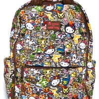 Sanrio Tokidoki X Hello Kitty Summer Safari Backpack Multi One