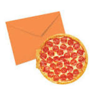 Pizza Scented Note-card