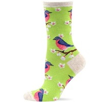 Hot Sox Bluebirds Sock