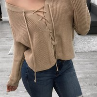 Cassiee Sweater (Tan)