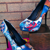 Barack Obama rock the vote heels (prints)