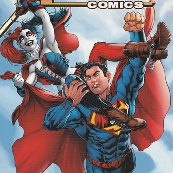 Action Comics # 39 DC Comics The New 52! Variant Harley Quinn Cover
