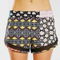 Without Walls Patchwork Print 3-Inch Short - Urban Outfitters