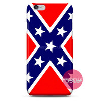 Confederate Battle Flag iPhone Case 3, 4, 5, 6 Cover
