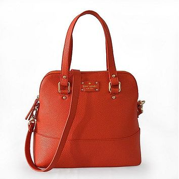 new arrival kate spade new york women fashion shopping pu tote handbag shoulder bag 3 colors