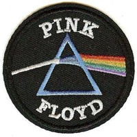 """Pink Floyd"" Circle Patch"