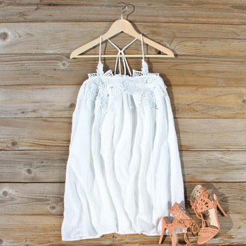 The Calypso Dress in White