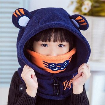 Baby Helmet Thick Multi function Baby Winter Hat