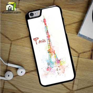Simple Paris Design iPhone 6S Case by Avallen