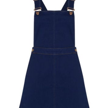 DENISE DUNGAREE DRESS