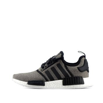 adidas originals NMD_R1 womens trainers sneakers shoes (US 9, black BA7476)