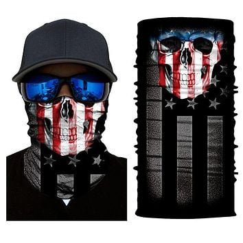 Outdoor Sports Climbing Skiing Balaclavas Skull Ghost Scarf Protective Balaclava Windproof Motorcycle Face Mask Scary Cool 2018