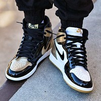 Air Jordan 1 tide brand personality wild high-top shoes