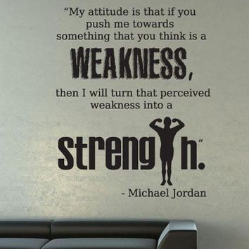 LMFONB Vinyl Wall Decal Sticker Michael Jordan Quote #OS_DC525