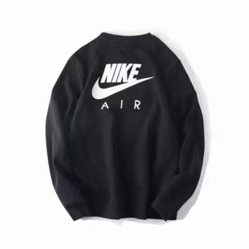Nike :Fashion Casual Long Sleeve Sport Top Sweater Pullover Sweatshirt