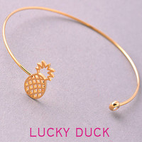 Dainty Pineapple Bangle