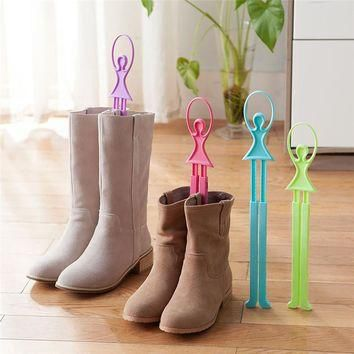 Girl Ballet Scalable Tree Shoes Table Shoe Rack Long Boots Stays Folder Vovotrade Shoe