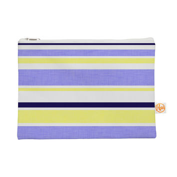 "Alison Coxon ""Jack Tar"" Purple Yellow Everything Bag"