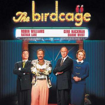 The Birdcage (Polish) 11x17 Movie Poster (1996)