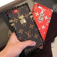 LV 2017 Hot ! iPhone 7 iPhone 7 plus - Stylish Cute On Sale Hot Deal Matte Couple Phone Case For iphone 6 6s 6plus 6s plus iPhone X iPhone XR iPhone XS iPhone XS MAX