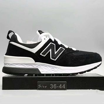 New Balance Fashion Casual All Match N Words Breathable Couple Sneakers Shoes Black G A0 Hxydxpf 1