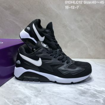 DCCK N857 Nike Air Max 2 Light New Cushion Casual Running Shoes Black