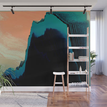 CliffHanger Wall Mural by duckyb