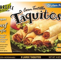 Starlite Cuisine Meatless Taquitos Beef-style (cold)