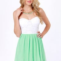 Juniors Strapless Dresses - Strapless Cocktail Dress | Lulus.com