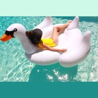 Swimline Giant Swan Ride-On, 75 inches, #90621'