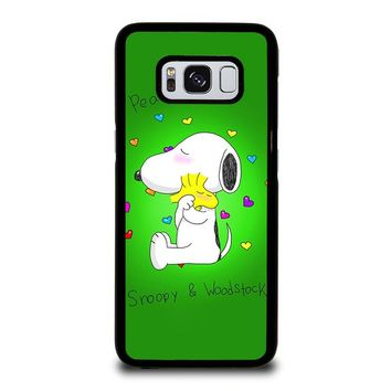 PEANUTS SNOOPY AND WOODSTOCK Samsung Galaxy S3 S4 S5 S6 S7 S8 Edge Plus Note 3 4 5 8 Case