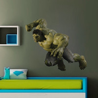Hulk Decal - Heroes and Super heroes Printed and Die-Cut Vinyl Apply in any Flat Surface- Avengers Incredible Hulk Wall Art Decor