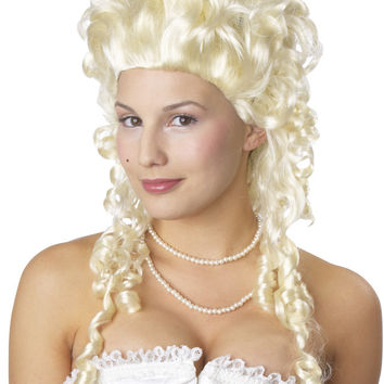 costume accessory: marie antoinette wig