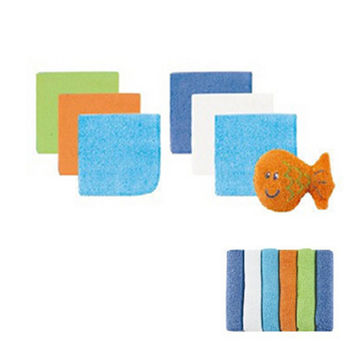 New Arrival Baby Towel Cotton 12 Pcs /lot Nursing Towel Feeding Towel for Baby Wash Cloth Cute Baby Handkerchief Baby Washcloth