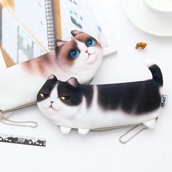 Cartoon Cat Pencil Case