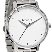 The Kensington Watch in White and Silver