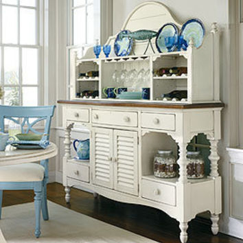 Coastal Living Buffet in Choice of Color - China Cabinets & Buffets - Dining Room, Kitchen & Bar - Furniture - PoshLiving