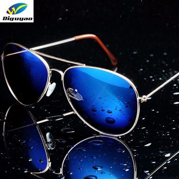 Metal Pilot Anti-Reflective Fashion Sunglasses
