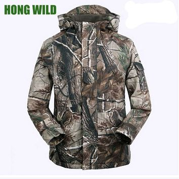 Waterproof Soft Shell Tactical Jacket Outdoor Hunting Sports Army SWAT Military fleece Training Windproof Outerwear Coat