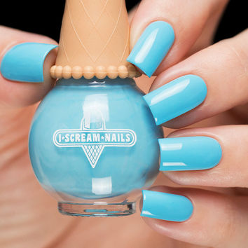 I Scream Nails You Blue It!