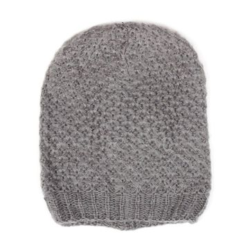 Winter In A Cool Ringlet Patterned Knit Beanie Hat