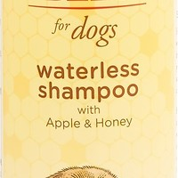 Burt's Bees Waterless Shampoo with Apple & Honey for Dogs, 10-oz bottle