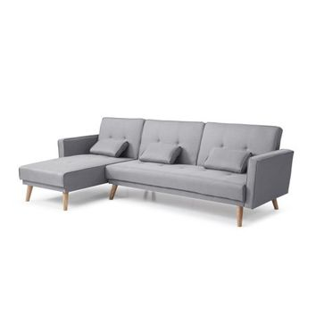 Sectional Sofa Bed Set, Gray - Walmart.com