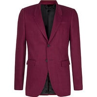 Burberry Prorsum Tailored Linen Jacket